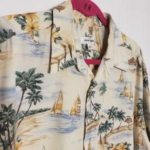 Pierre Cardin men's Hawaiian shirt size XXL